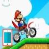بازی آنلاین فلش بازی آنلاین ماریو : ماریو عشق موتور سواری کراس - ورزشی فلش