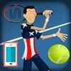 بازی تنیس : جام قهرمانی - ورزشی
