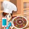 بازی آنلاین آشپزی پیتزای شکلاتی - دخترانه