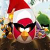 بازی آنلاین فلش انگری بردز فضایی  کریسمس پرندگان خشمگین عصبانی