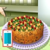 بازی آنلاین شیرینی پزی کیک میوه - دخترانه فلش