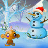 بازی آنلاین شاد کردن میمون نسخه کریسمس - ادونچر فکری فلش