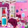 بازی مرتب کردن اتاق باربی - دخترانه