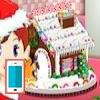 بازی آنلاین فلش بازی آنلاین شیرینی پزی خانه نان زنجبیلی - دخترانه فلش